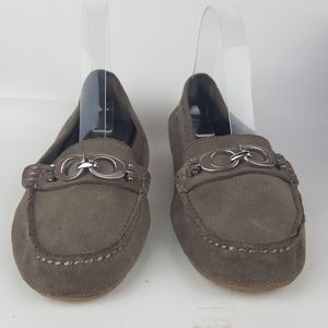 Coach Fortunata Slip On Loafers sz 8.5